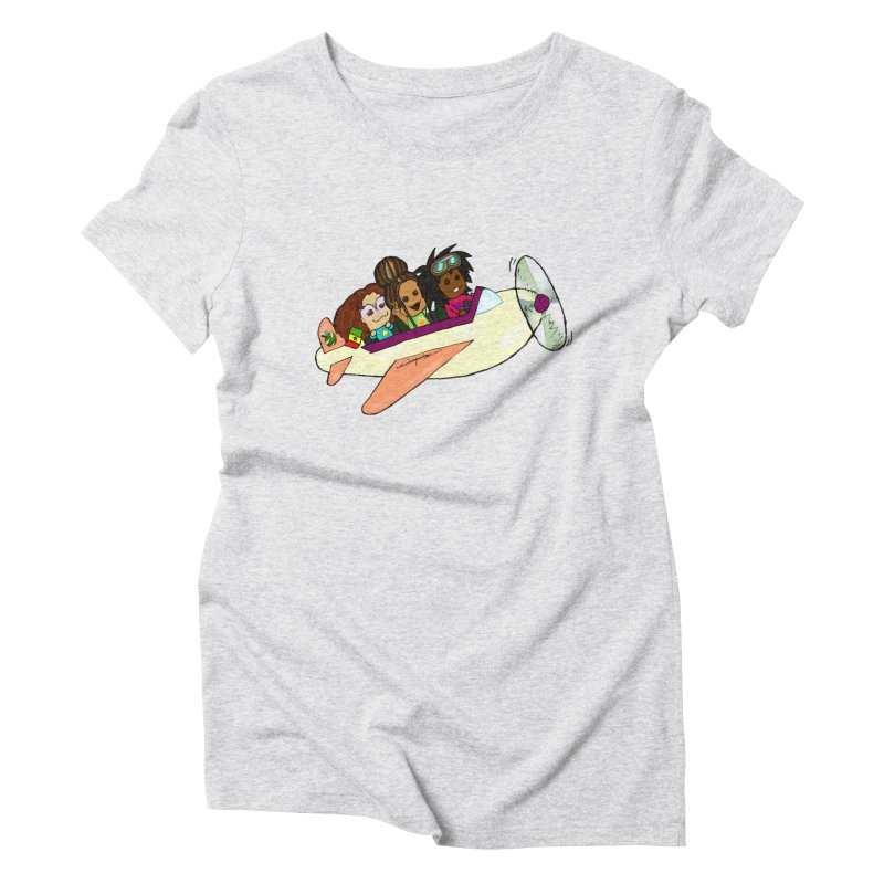 Froots Fly to Dakar Women's T-Shirt by Strange Froots Merch