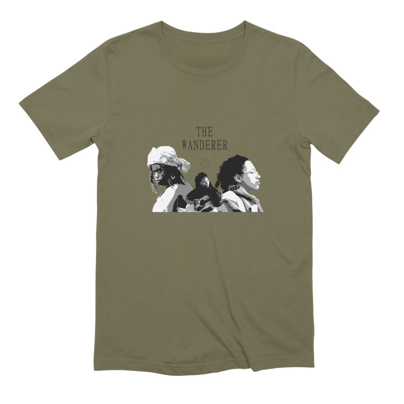 The Wanderer - Grayscale Men's Extra Soft T-Shirt by Strange Froots Merch