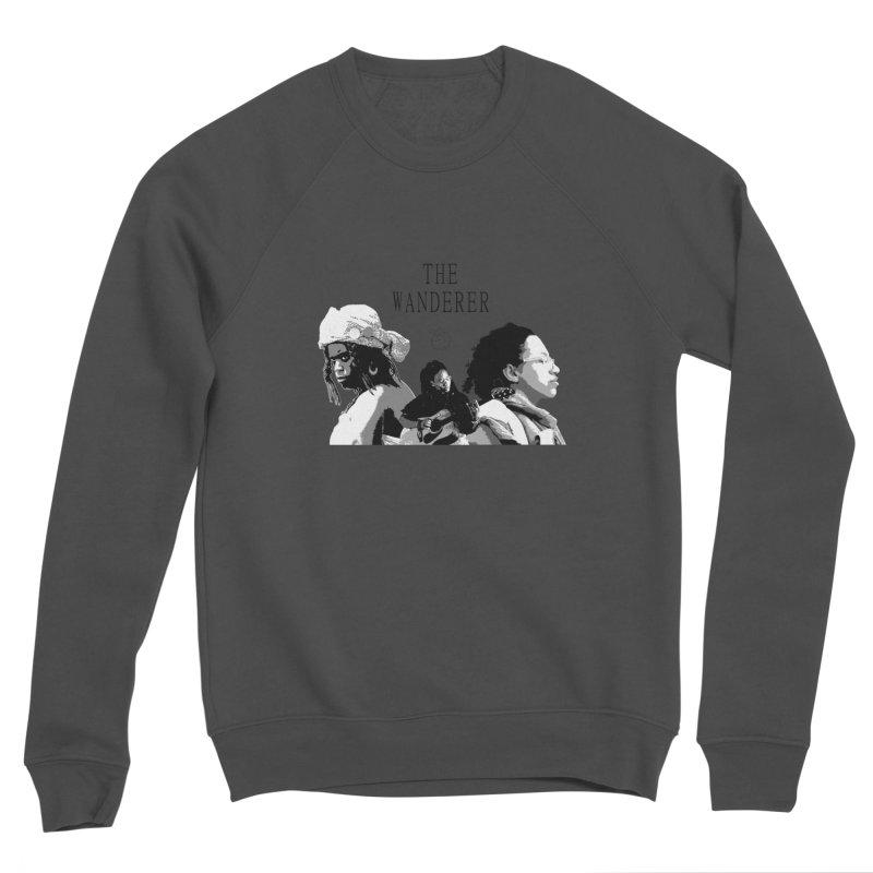 The Wanderer - Grayscale Men's Sponge Fleece Sweatshirt by Strange Froots Merch