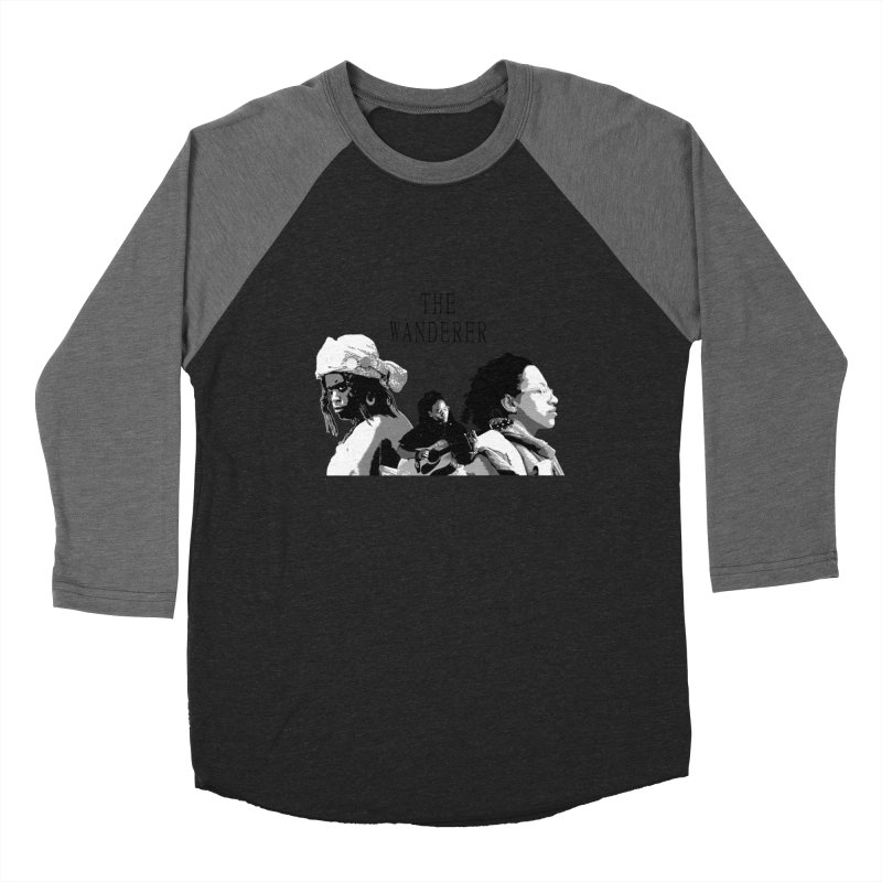 The Wanderer - Grayscale Women's Baseball Triblend Longsleeve T-Shirt by Strange Froots Merch