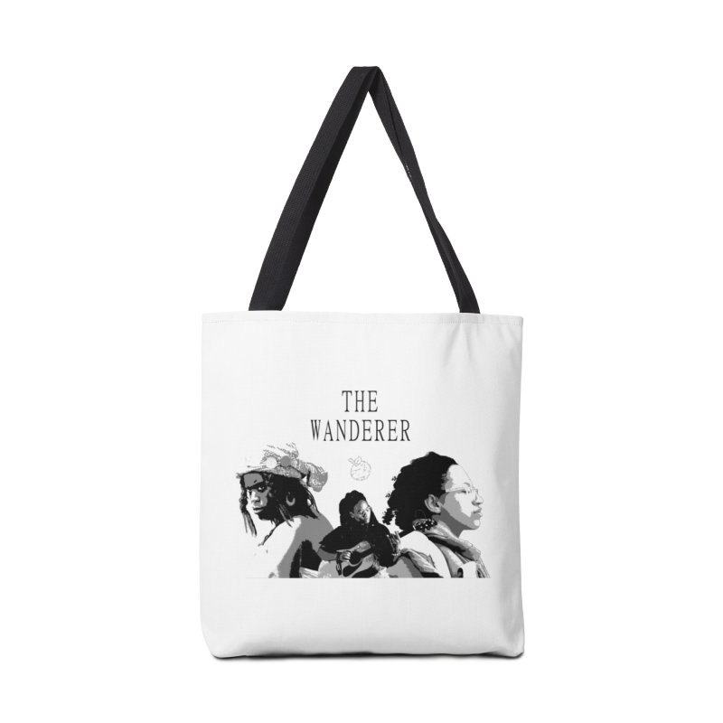 The Wanderer - Grayscale Accessories Tote Bag Bag by Strange Froots Merch