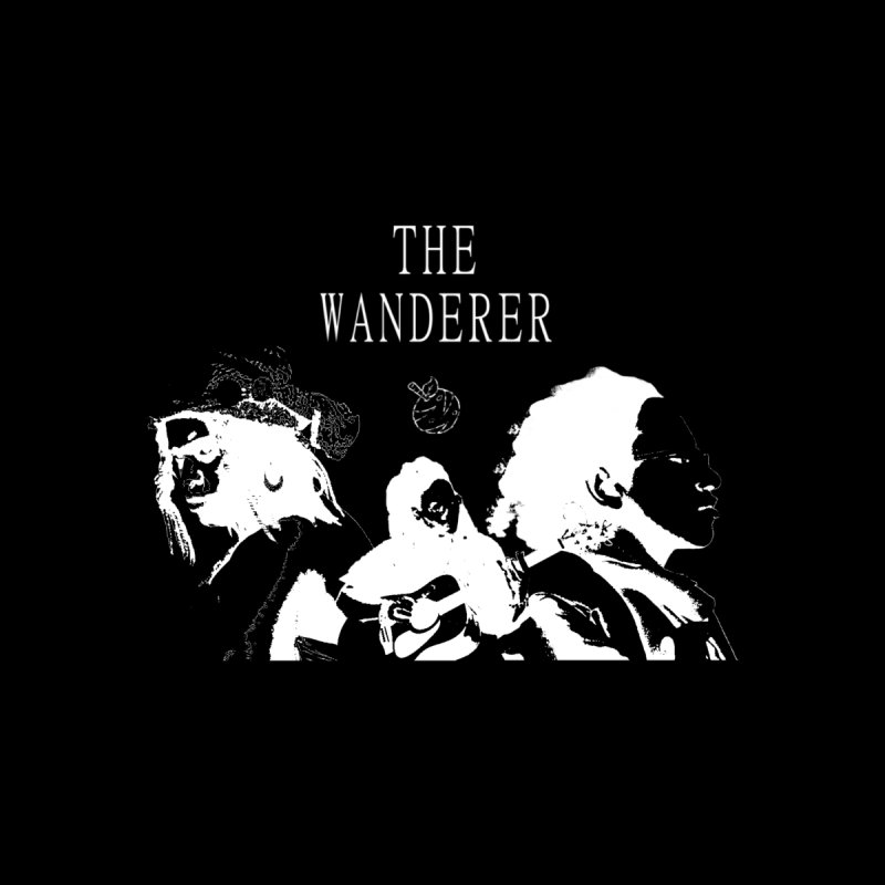 The Wanderer - Monochromatic White Men's T-Shirt by Strange Froots Merch