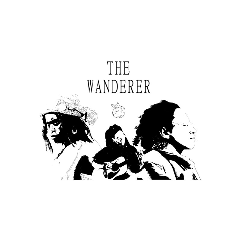 The Wanderer - Monochromatic Black by Strange Froots Merch