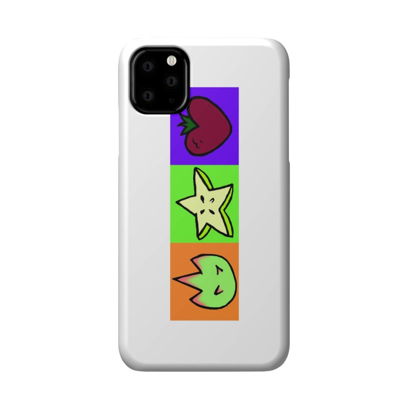 Individual Froot Logos Full Color Accessories Phone Case by Strange Froots Merch