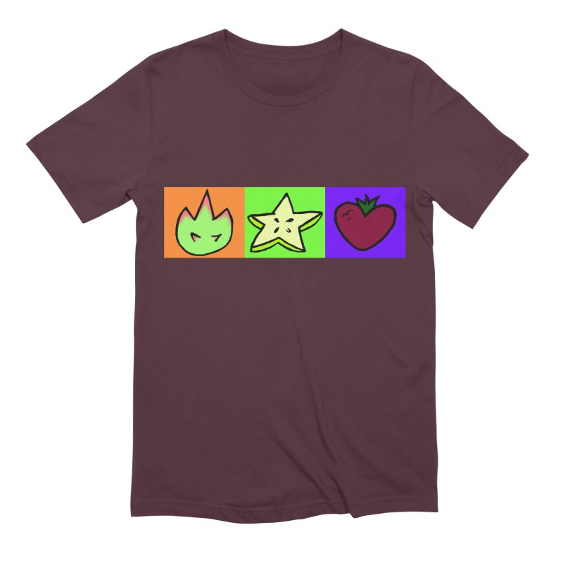 Individual Froot Logos Full Color Men's Extra Soft T-Shirt by Strange Froots Merch