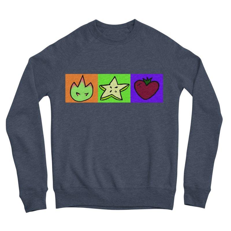 Individual Froot Logos Full Color Men's Sponge Fleece Sweatshirt by Strange Froots Merch