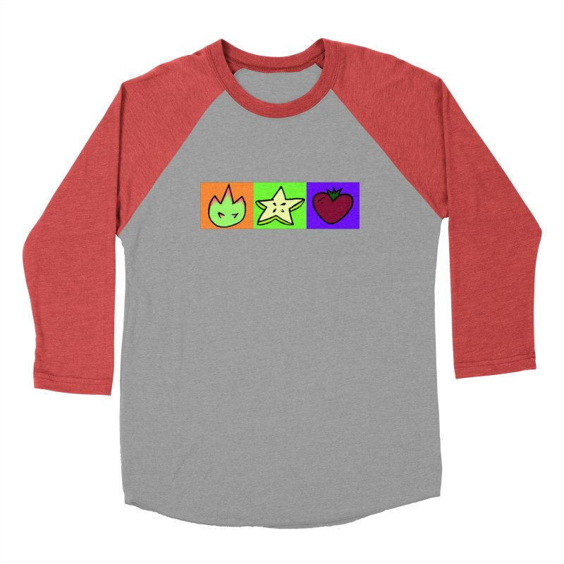 Individual Froot Logos Full Color Men's Longsleeve T-Shirt by Strange Froots Merch