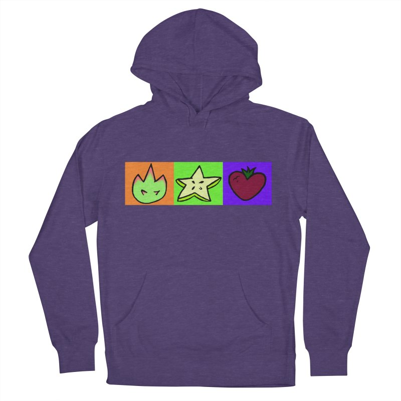 Individual Froot Logos Full Color Women's French Terry Pullover Hoody by Strange Froots Merch