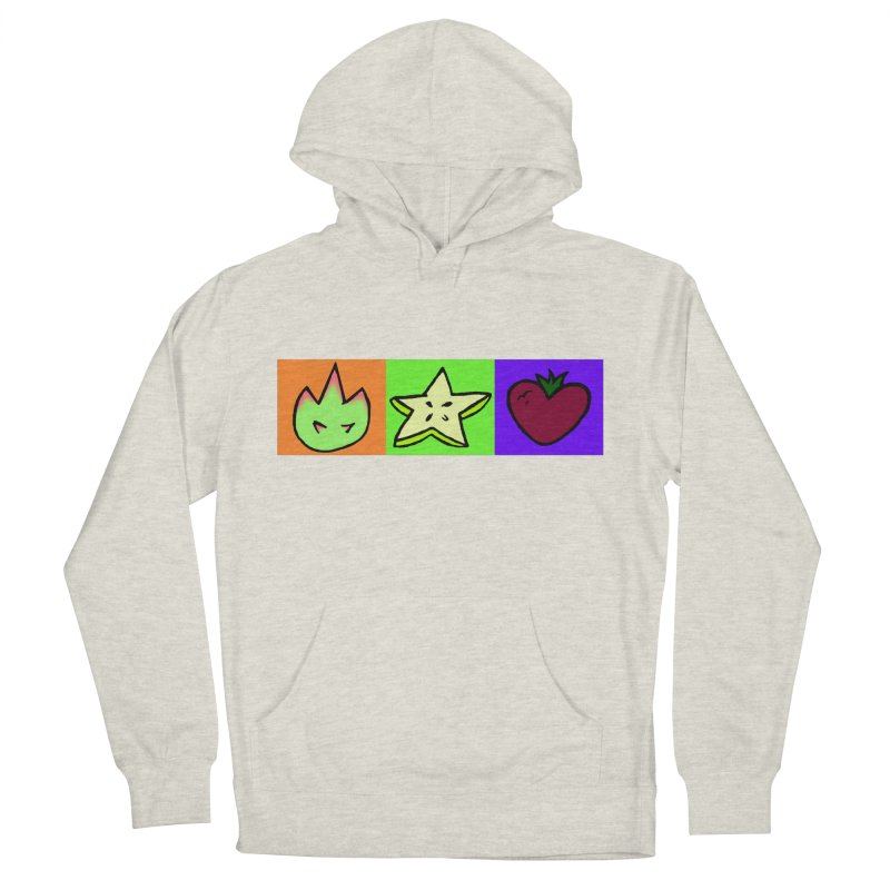 Individual Froot Logos Full Color Men's French Terry Pullover Hoody by Strange Froots Merch