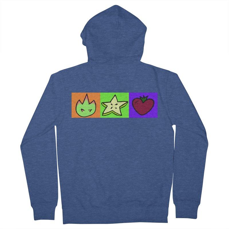Individual Froot Logos Full Color Men's Zip-Up Hoody by Strange Froots Merch