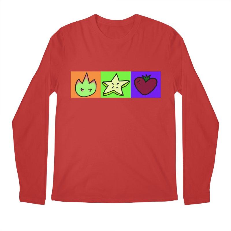 Individual Froot Logos Full Color Men's Regular Longsleeve T-Shirt by Strange Froots Merch