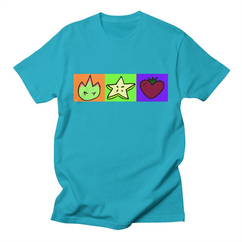 Individual Froot Logos Full Color Men's T-Shirt by Strange Froots Merch