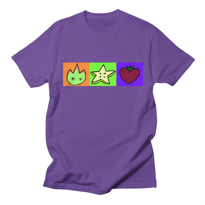 Individual Froot Logos Full Color Women's Regular Unisex T-Shirt by Strange Froots Merch