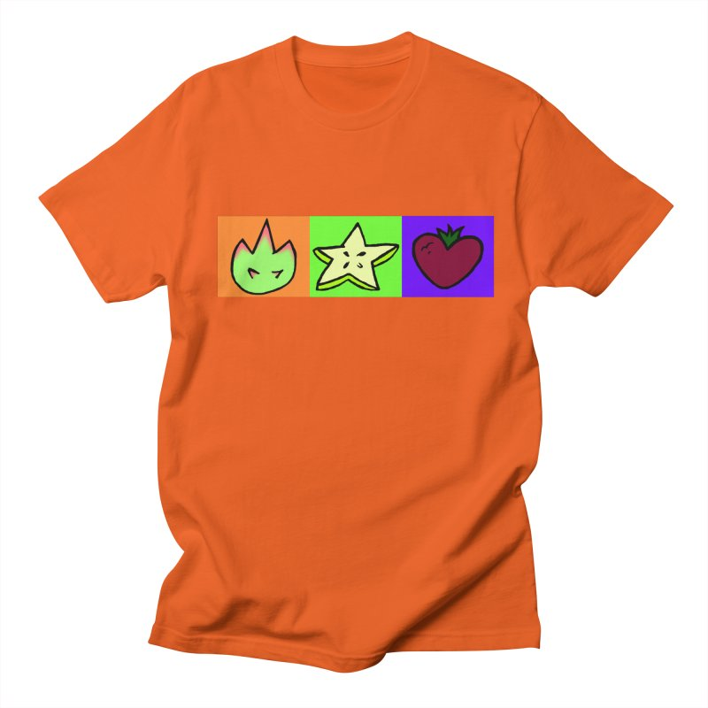 Individual Froot Logos Full Color Men's Regular T-Shirt by Strange Froots Merch