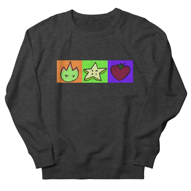 Individual Froot Logos Full Color Women's French Terry Sweatshirt by Strange Froots Merch