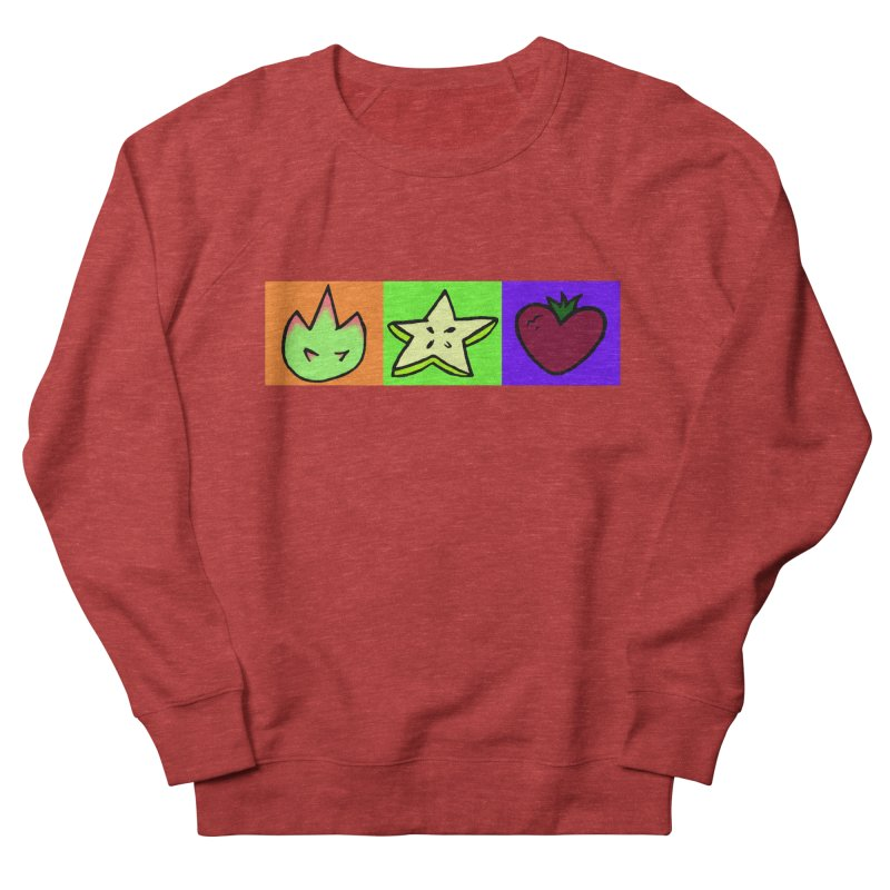 Individual Froot Logos Full Color Men's French Terry Sweatshirt by Strange Froots Merch
