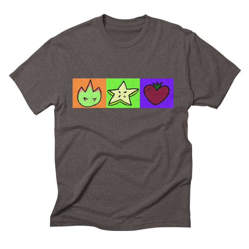 Individual Froot Logos Full Color Men's Triblend T-Shirt by Strange Froots Merch