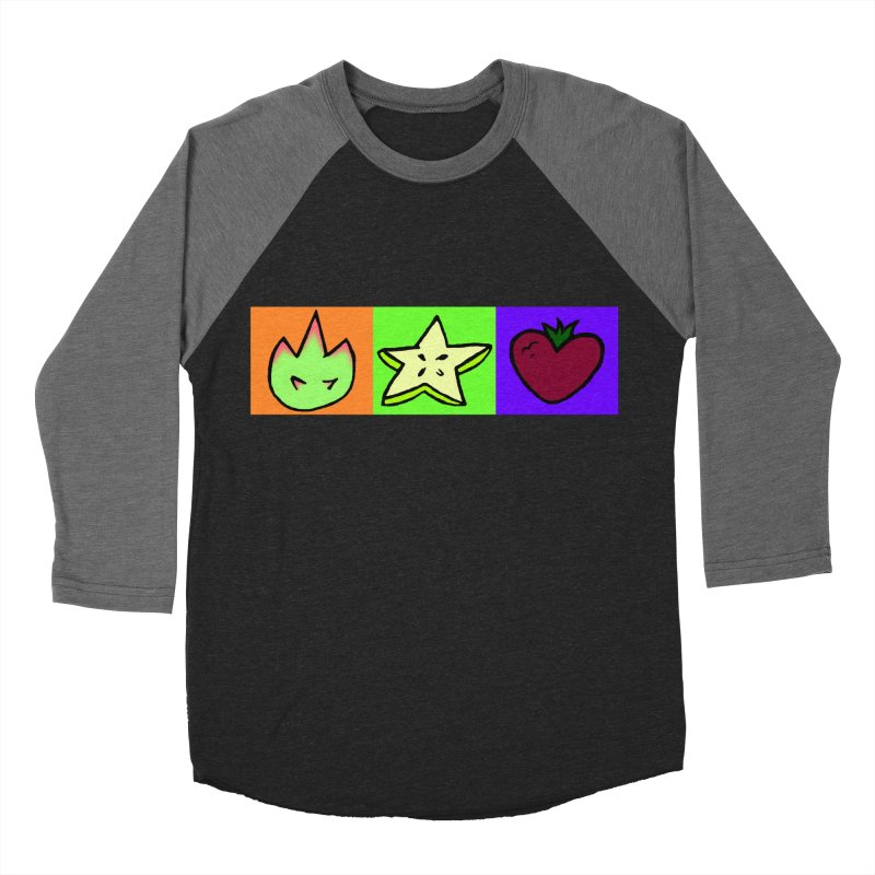 Individual Froot Logos Full Color Women's Baseball Triblend Longsleeve T-Shirt by Strange Froots Merch
