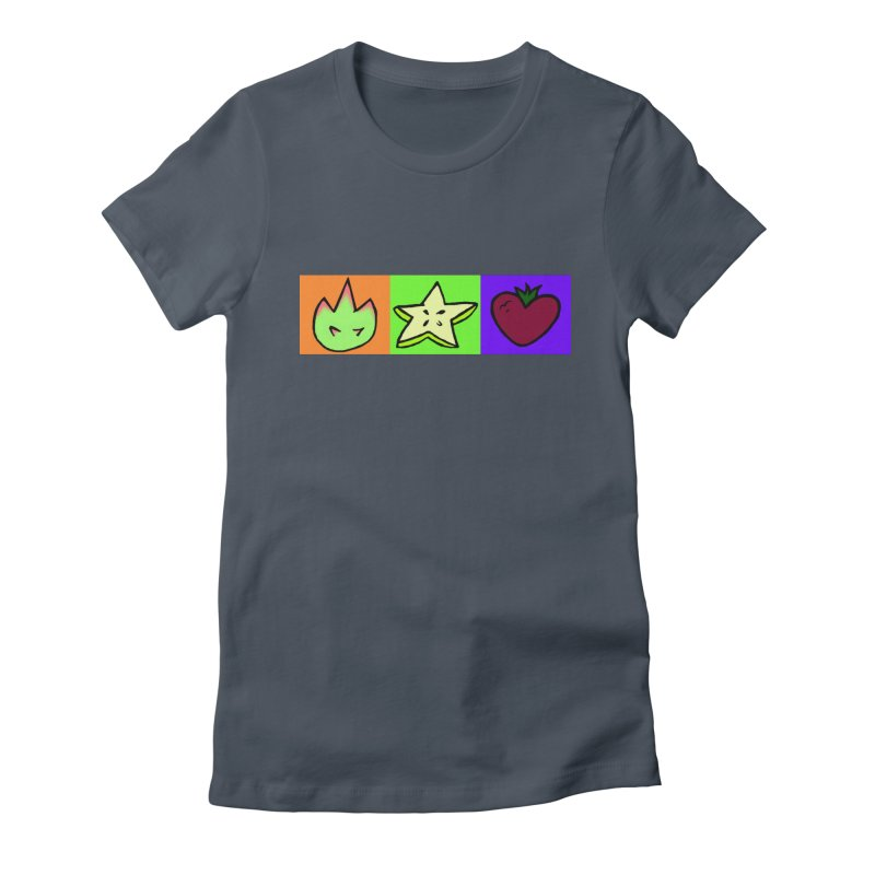 Individual Froot Logos Full Color Women's T-Shirt by Strange Froots Merch