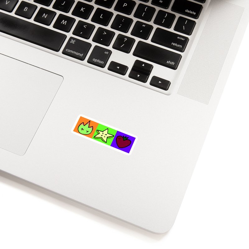 Individual Froot Logos Full Color Accessories Sticker by Strange Froots Merch