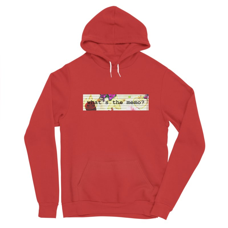 BTFFT Floral Print with Individual Logos - What's the Memo Women's Pullover Hoody by Strange Froots Merch