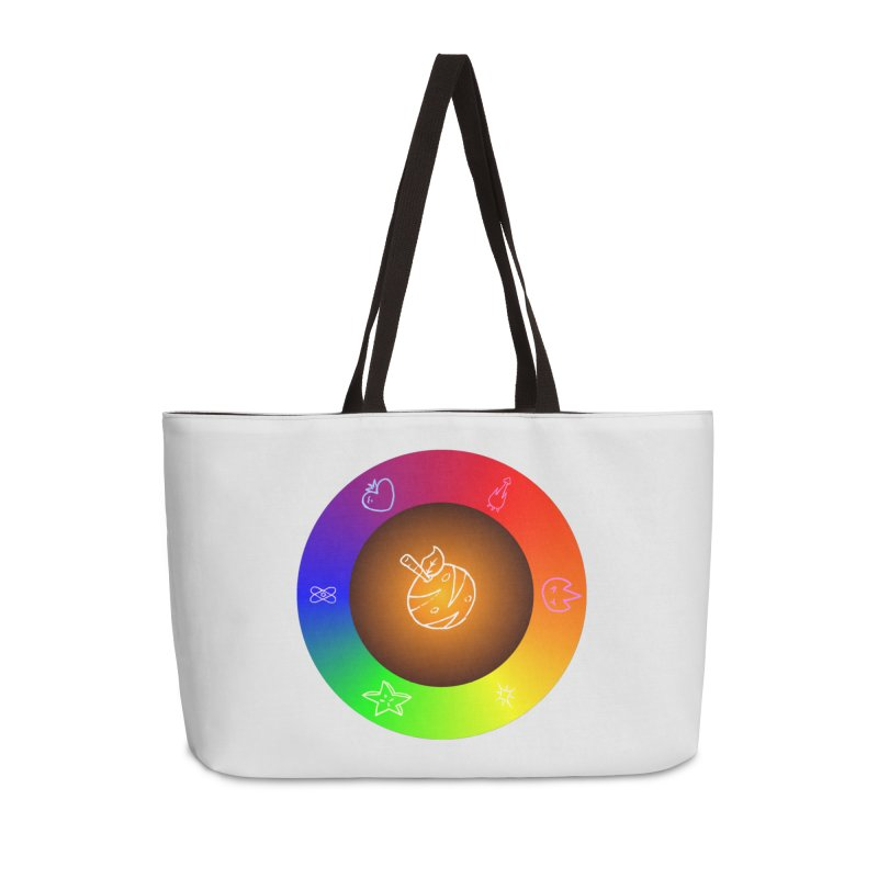 Froot the Rainbow Accessories Weekender Bag Bag by Strange Froots Merch
