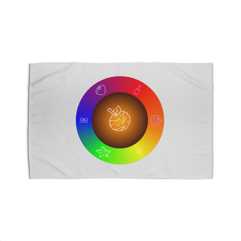 Froot the Rainbow Home Rug by Strange Froots Merch
