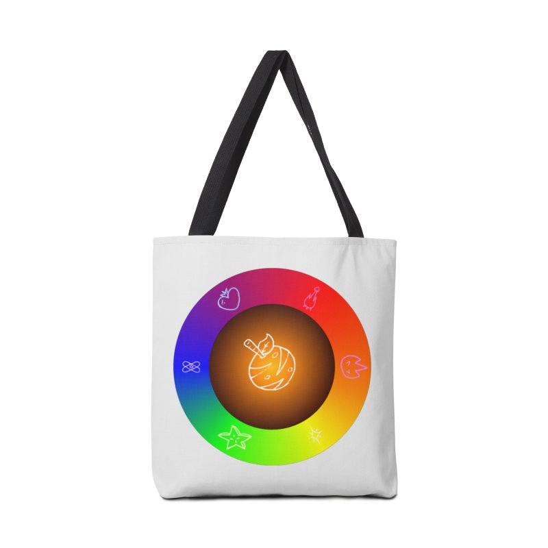 Froot the Rainbow Accessories Tote Bag Bag by Strange Froots Merch