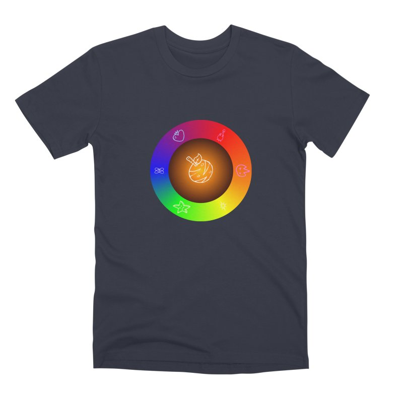 Froot the Rainbow Men's Premium T-Shirt by Strange Froots Merch