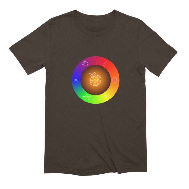 Froot the Rainbow Men's Extra Soft T-Shirt by Strange Froots Merch