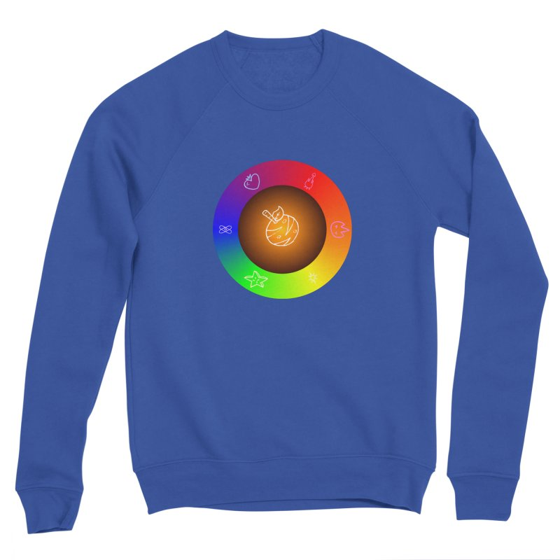 Froot the Rainbow Men's Sweatshirt by Strange Froots Merch