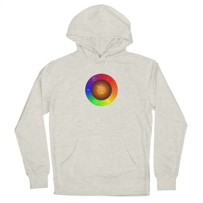 Froot the Rainbow Women's French Terry Pullover Hoody by Strange Froots Merch