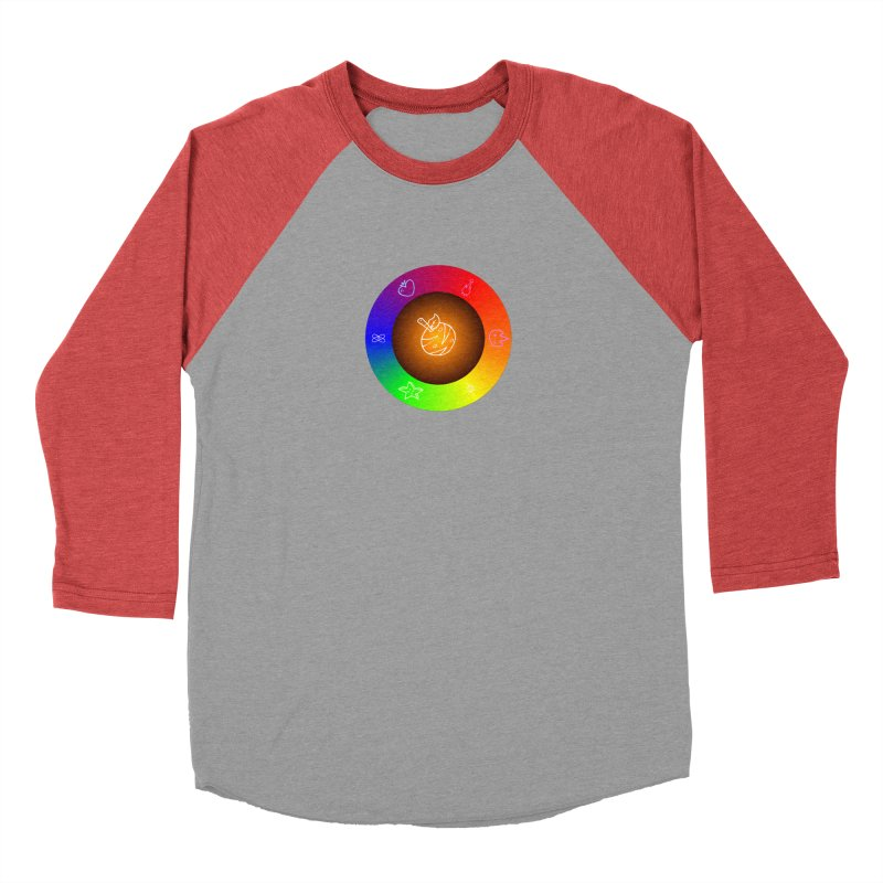 Froot the Rainbow Women's Baseball Triblend Longsleeve T-Shirt by Strange Froots Merch