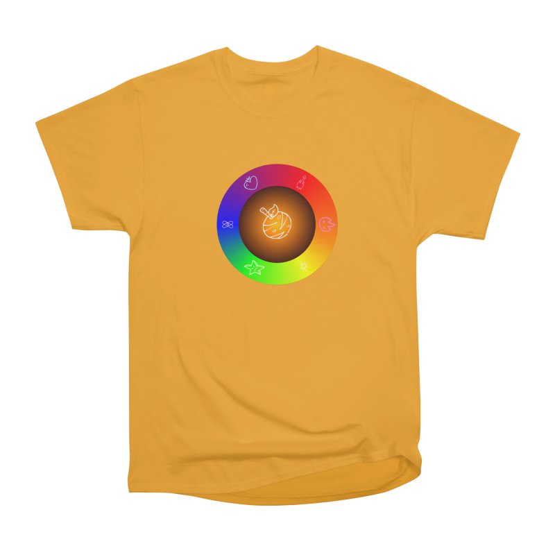 Froot the Rainbow Women's Heavyweight Unisex T-Shirt by Strange Froots Merch