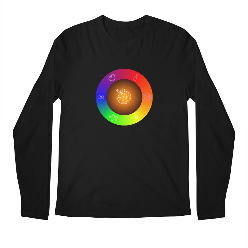 Froot the Rainbow Men's Regular Longsleeve T-Shirt by Strange Froots Merch