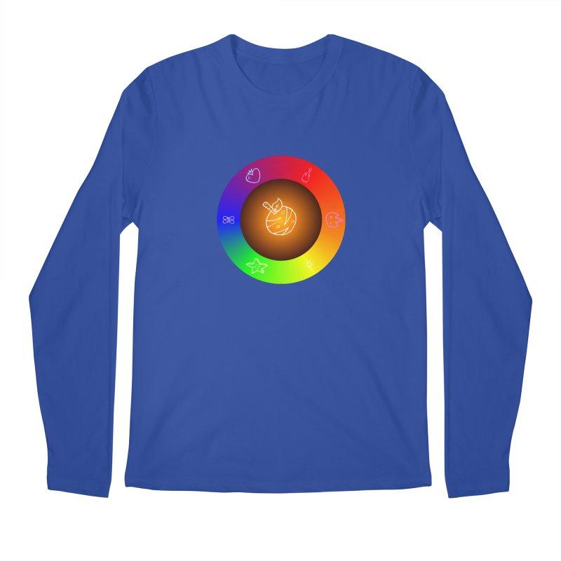 Froot the Rainbow Men's Regular Longsleeve T-Shirt by Strange Froots Merch