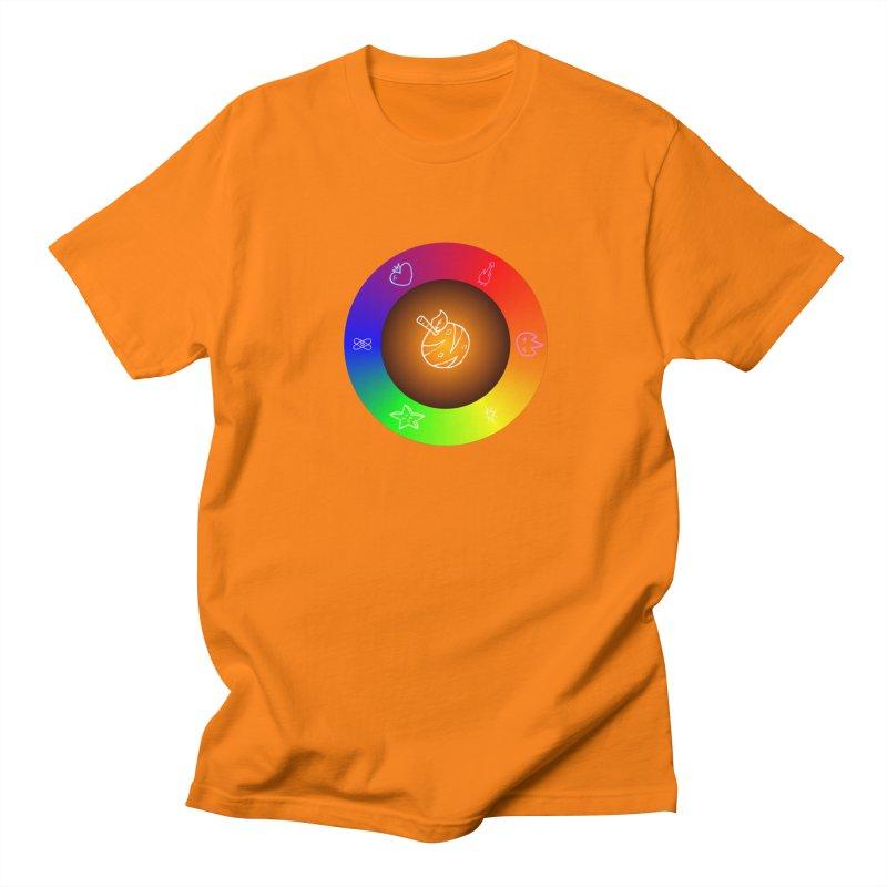 Froot the Rainbow Men's Regular T-Shirt by Strange Froots Merch
