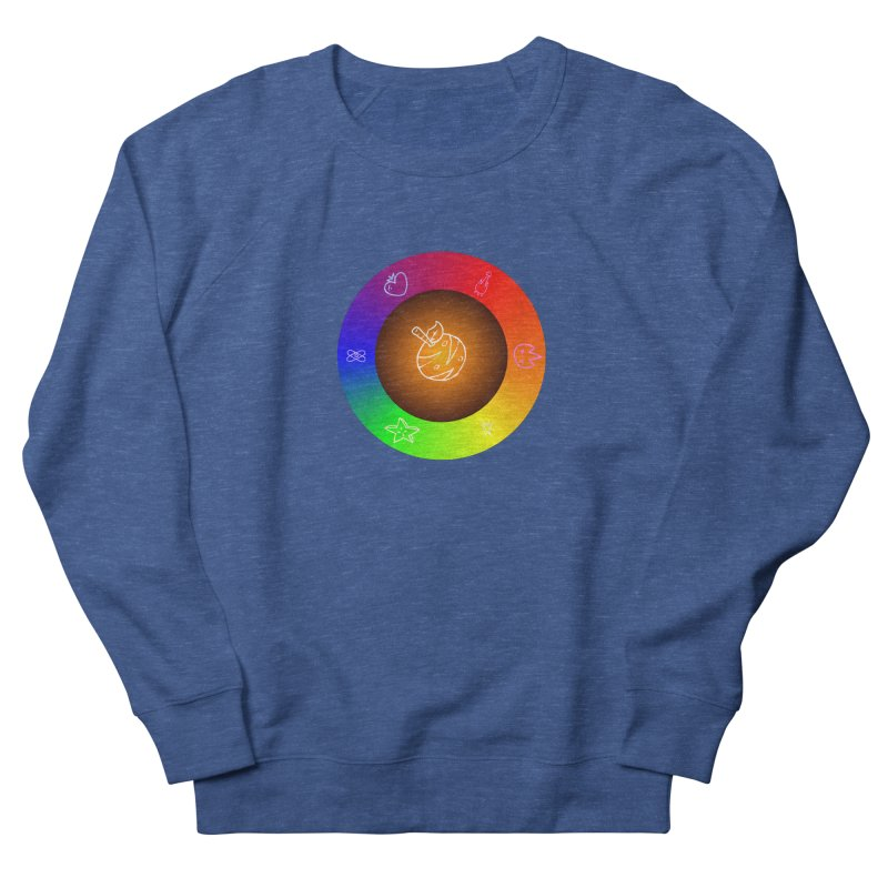 Froot the Rainbow Women's French Terry Sweatshirt by Strange Froots Merch
