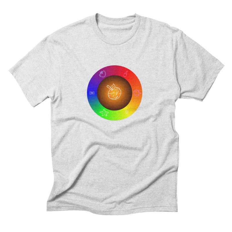 Froot the Rainbow Men's Triblend T-Shirt by Strange Froots Merch