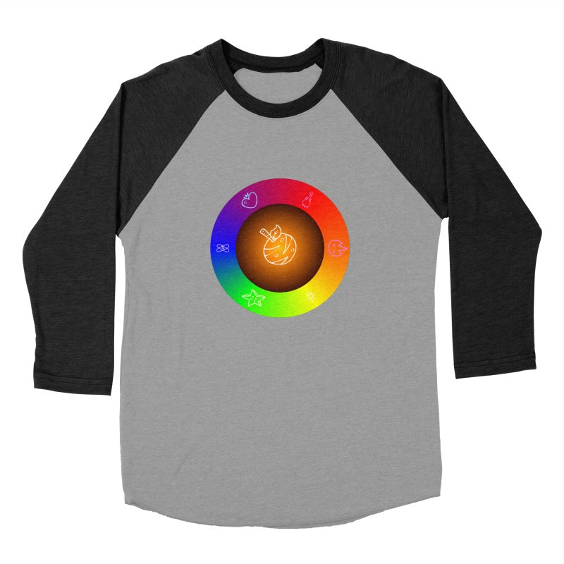 Froot the Rainbow Women's Baseball Triblend Longsleeve T-Shirt by Strange Froots Merch