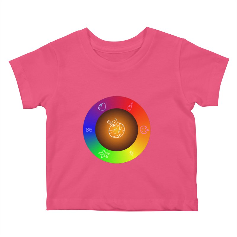 Froot the Rainbow Kids Baby T-Shirt by Strange Froots Merch