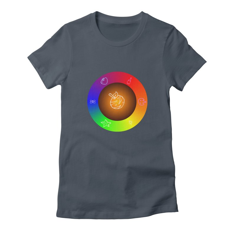 Froot the Rainbow Women's T-Shirt by Strange Froots Merch
