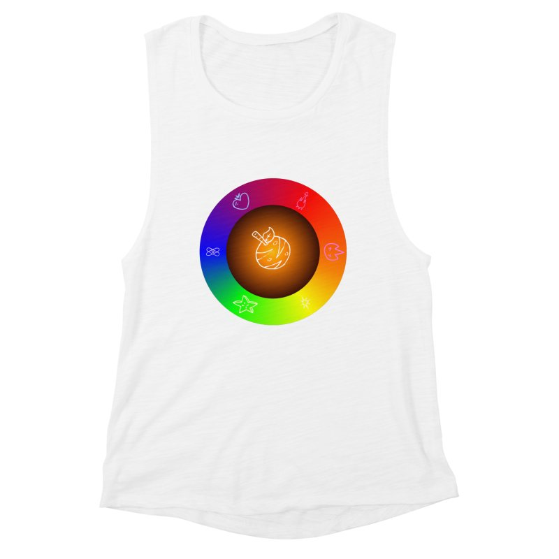 Froot the Rainbow Women's Tank by Strange Froots Merch