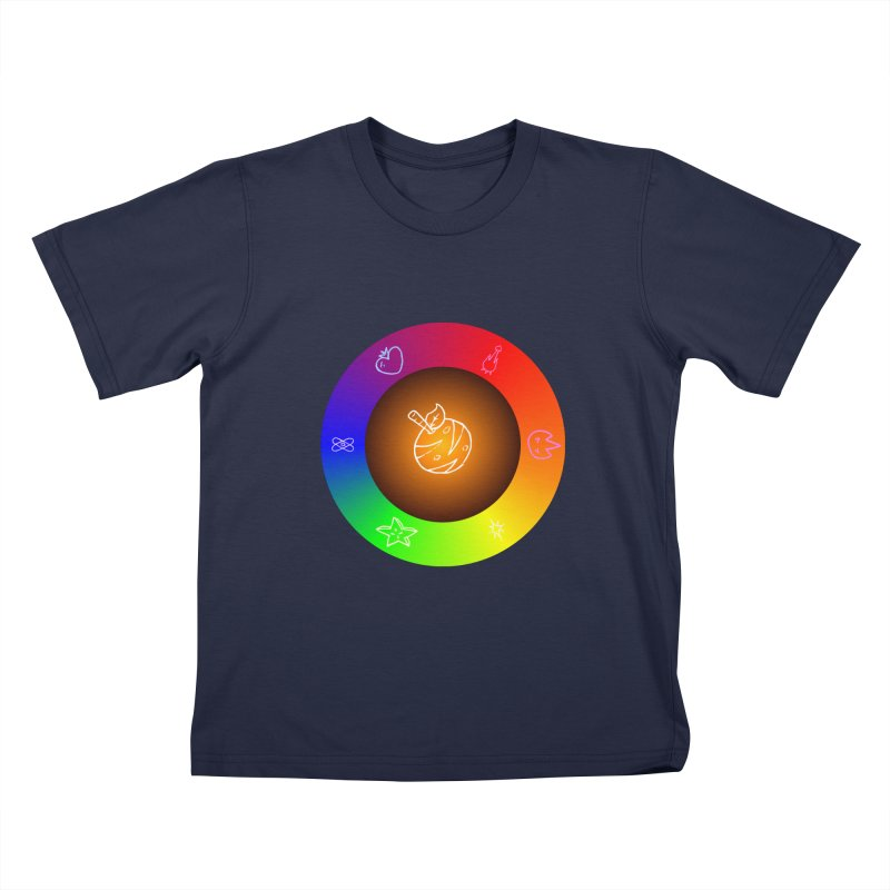Froot the Rainbow Kids T-Shirt by Strange Froots Merch