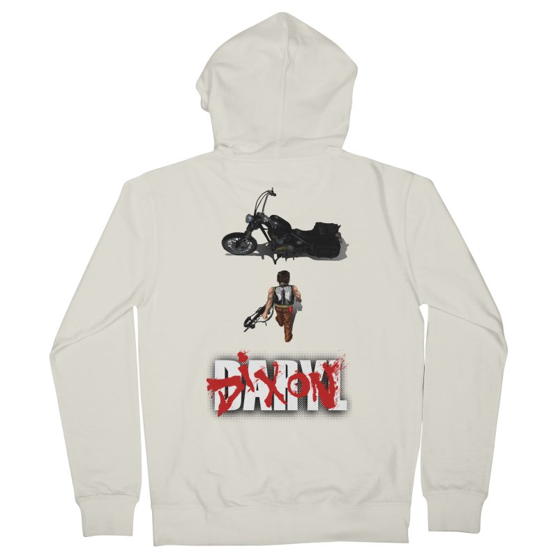 Daryl Men's Zip-Up Hoody by thestray's Shop