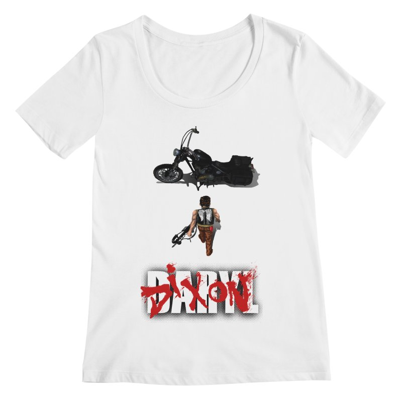 Daryl Women's Scoopneck by thestray's Shop