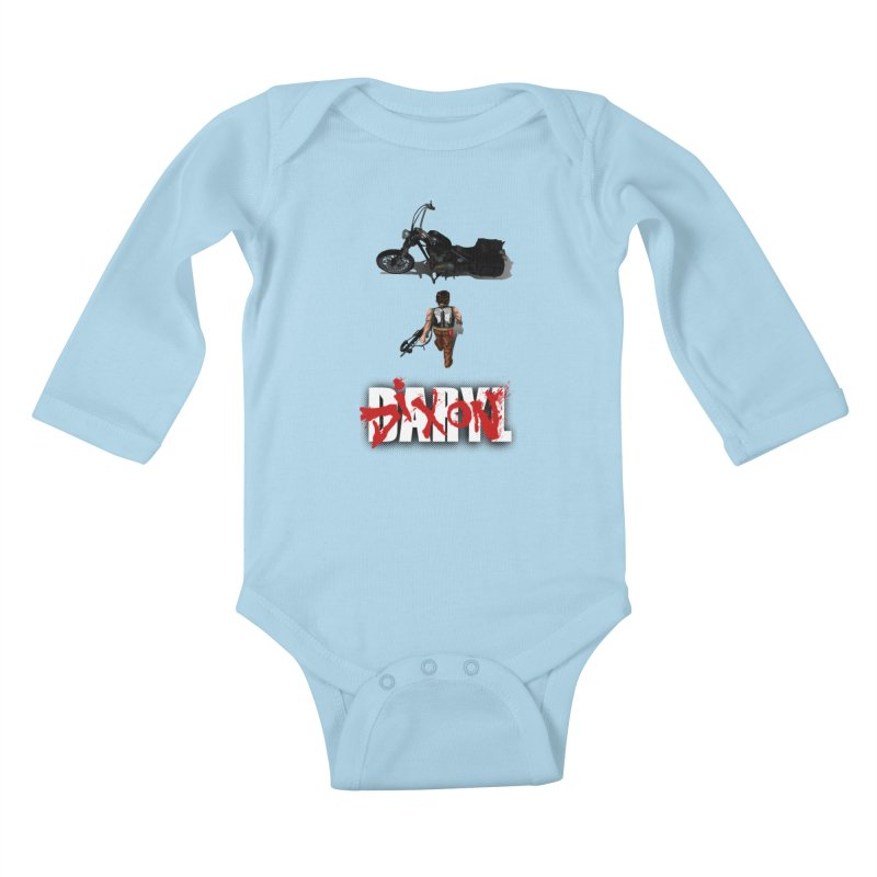 Daryl Kids Baby Longsleeve Bodysuit by thestray's Shop