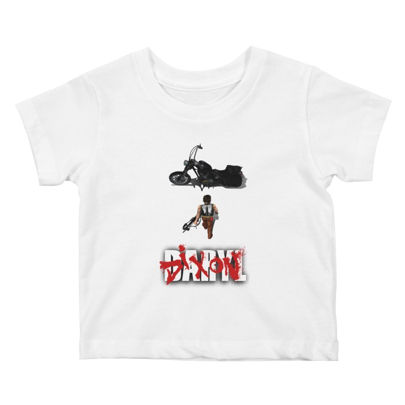 Daryl Kids Baby T-Shirt by thestray's Shop