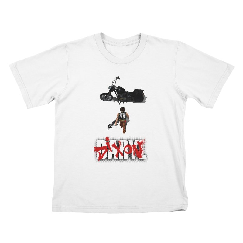 Daryl Kids T-Shirt by thestray's Shop
