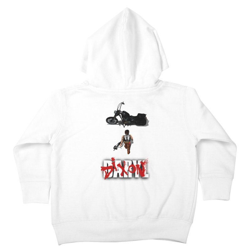 Daryl Kids Toddler Zip-Up Hoody by thestray's Shop